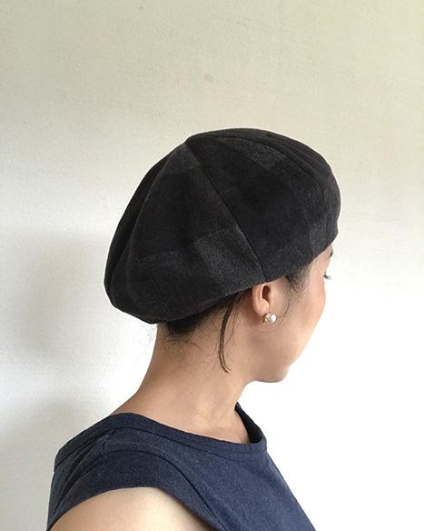 の ベレー 作り方 帽